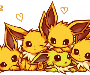 pokemon, jolteon, and cute image
