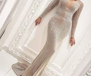 dress, luxury, and diamonds image