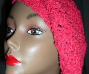 red slouchy hat ♥ image