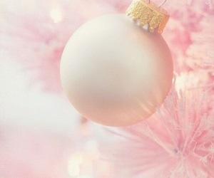 christmas, pink, and holiday image