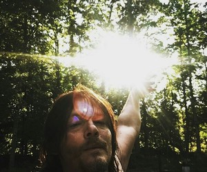 norman reedus, the walking dead, and nature image