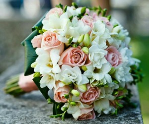 flowers and wedding image