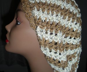 two tone slouchy beanie image