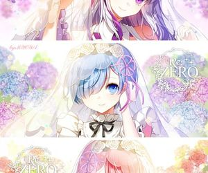 anime, anime girl, and re:zero image
