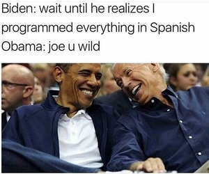 biden and funny image