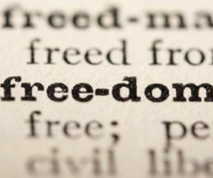 definition, dictionary, and freedom image