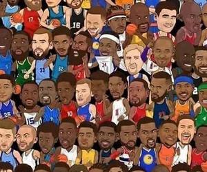 Basketball, kobe bryant, and LeBron James image