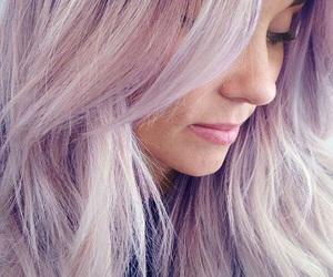 hair, purple, and lauren conrad image