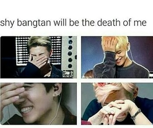 bts, jin, and shy image