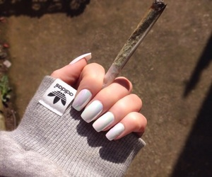 nails and adidas image