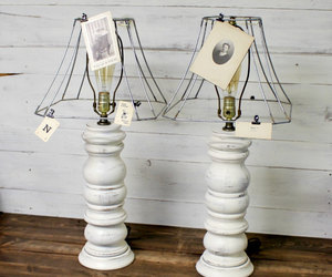 etsy, wood lamps, and antique lamps image