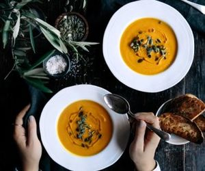 ginger, pumpkin, and soup image