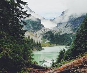 mountains, lake, and landscape image