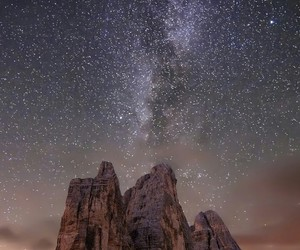 galaxy, planet, and sky image