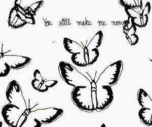 butterfly, niall, and love image