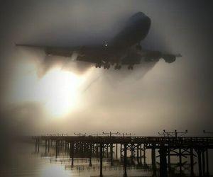 photo, plane, and airplane image