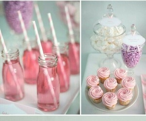cake, dulce, and cupcakes image