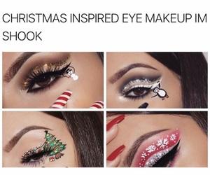 amazing, christmas, and eyeliner image