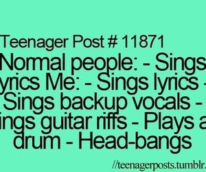 music, teenager post, and me image