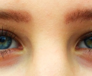 blue, lashes, and different image