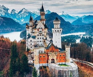 castle, photography, and travel image
