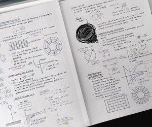 notes, studyblr, and school image