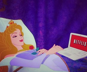 netflix, disney, and princess image
