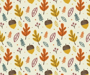 autumn, pattern, and wallpaper image