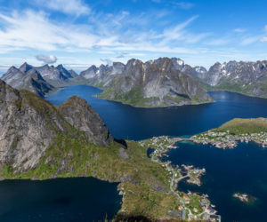 autumn, nature, and norway image