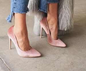 shoes, fashion, and denim image