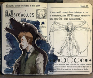 harry potter, werewolf, and lupin image