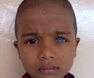 eyes, child, and blue image