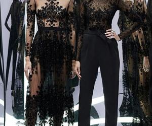 fashion, black, and style image