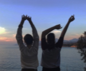 best friend, freedom, and blurry photo image