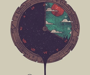 clock, art, and time image