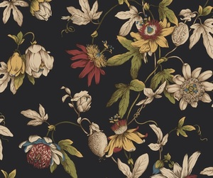 flowers, pattern, and background image