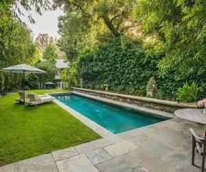 actress, backyard, and Beverly Hills image