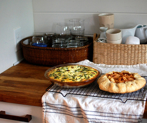 Apple Pie, food, and quiche image