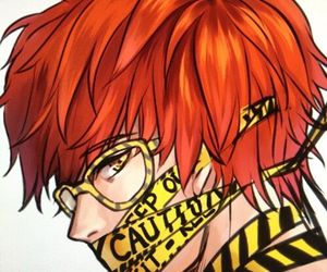 mystic messenger, 707, and otome game image