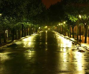 light, lights, and roads image