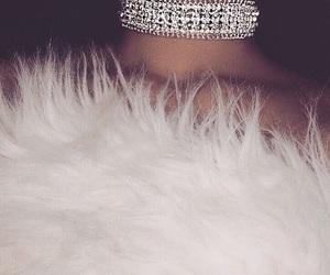 choker, fashion, and fur image