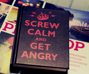 book, calm, and keep calm image