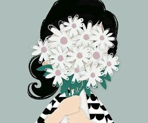 flowers girl image