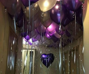 balloons, luxury, and surprise image