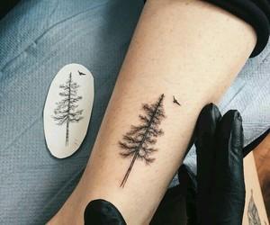 tattoo, tree, and art image