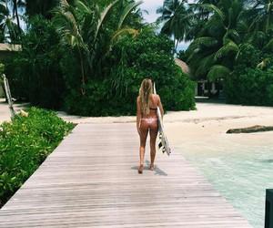 summer, beautiful, and bikini image