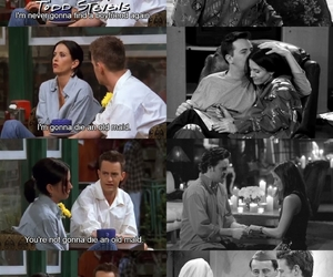 chandler bing, Courteney Cox, and monica geller image