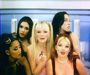 spice girls, 90s, and girl image