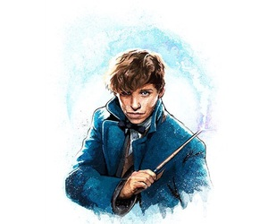 fantastic beasts, art, and book image