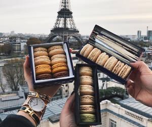 paris, food, and travel image